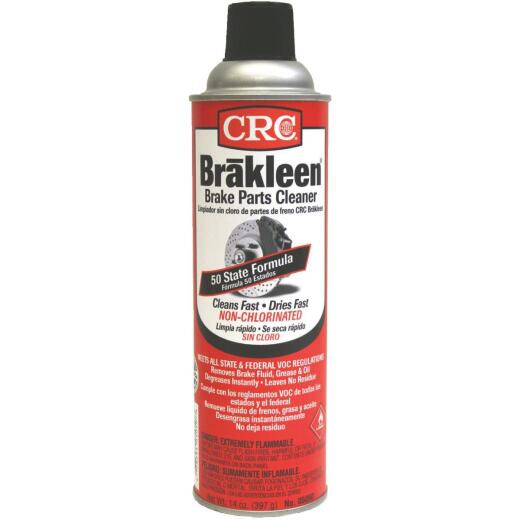 CRC Brakleen 14 Oz. Aerosol Non-Chlorinated Brake Parts Cleaner
