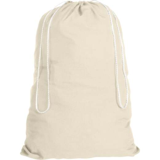 Homz 19 In. x 30 In. Cotton Laundry Bag