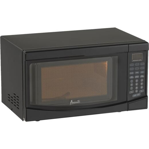 Avanti 0.7 Cu. Ft. Black Countertop Microwave
