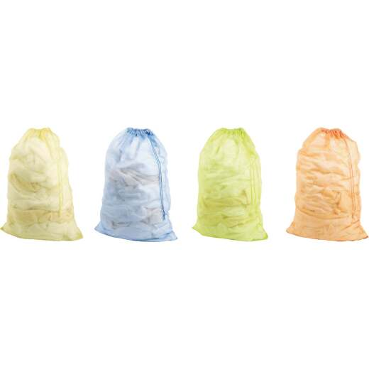 Homz 19 In. x 18 In. Dia. Mesh Laundry Bag