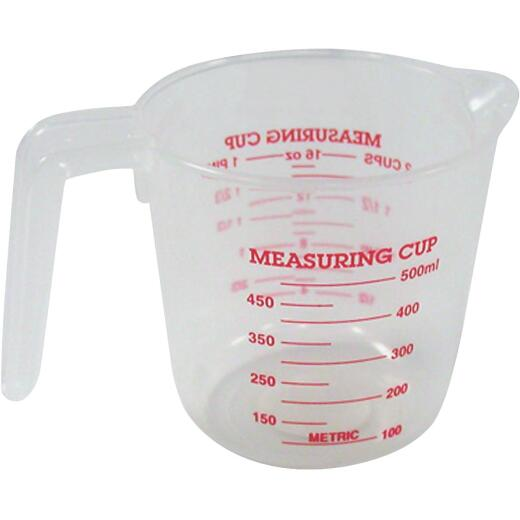 Norpro 2 Cup White Plastic Measuring Cup