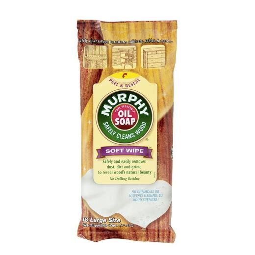 Murphy Oil Soap Wood Cleaning Wipes (18-Pack)