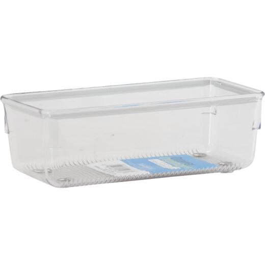 Interdesign Linus 3 In. x 6 In. x 2 In. Clear Drawer Organizer