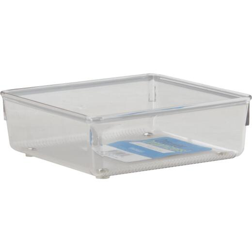 Interdesign Linus 6 In. x 6 In. x 2 In. Clear Drawer Organizer