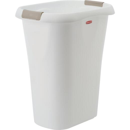 Rubbermaid 32 Qt. White Wastebasket
