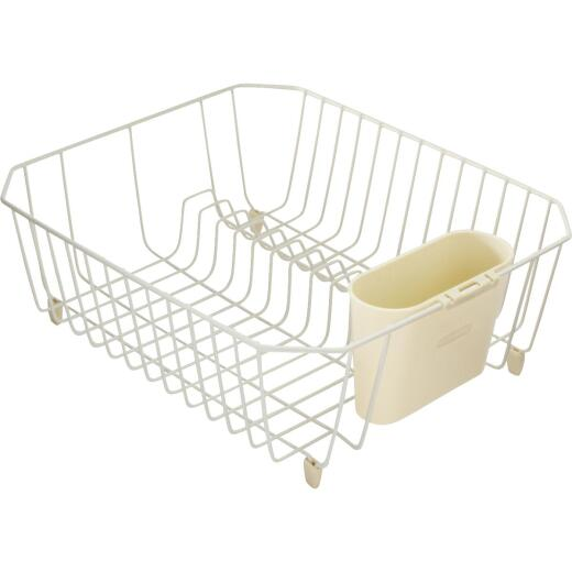 Rubbermaid 12.49 In. x 14.31 In. Bisque Wire Sink Dish Drainer