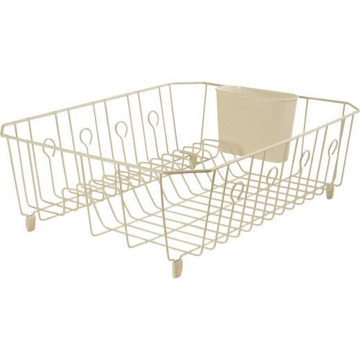Rubbermaid 13.81 In. x 17.62 In. Bisque Wire Sink Dish Drainer