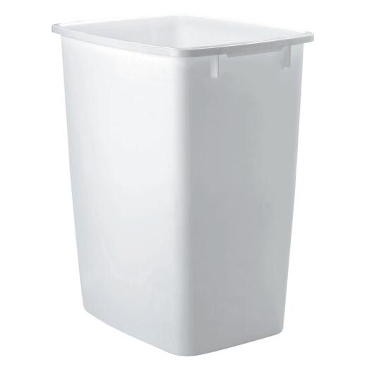 Rubbermaid 36 Qt. White Wastebasket