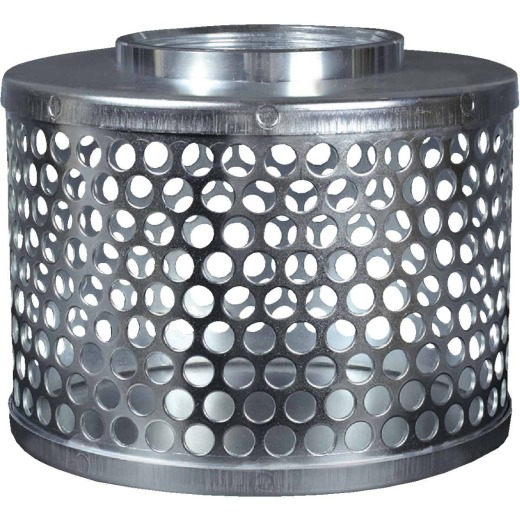 Apache 1-1/2 In. ID Plated Steel Suction Hose Strainer