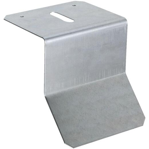 National Galvanized Flashing Box/Round Rail Barn Door Bracket