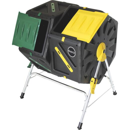 Miracle-Gro Dual Chamber Tumbling Composter (37-Gallon)