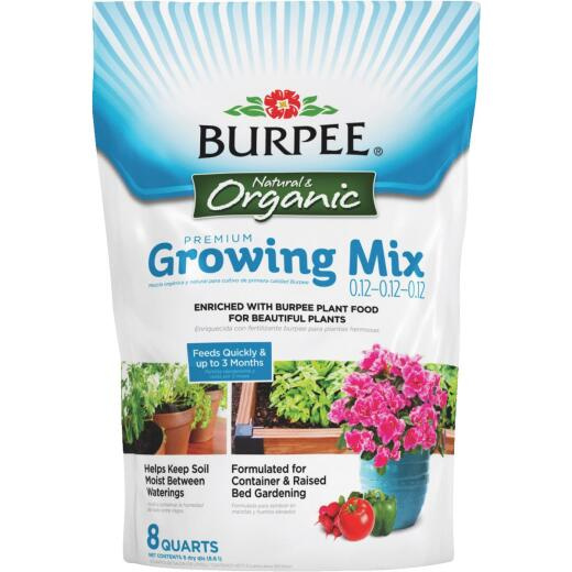 Burpee 8 Qt. All Purpose Container Organic Seed Starting Mix