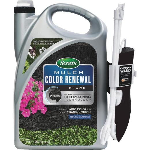 Scotts 1 Gal. Ready To Use Wand Sprayer Black Mulch Color Renewal