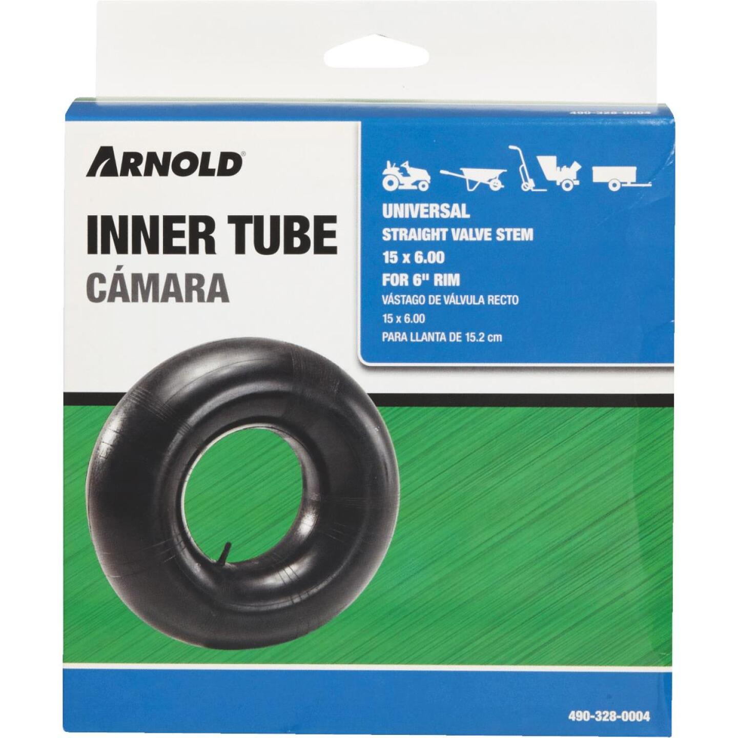 Arnold 15 In. x 6 In. Replacement Lawn Mower Inner Tube Image 2