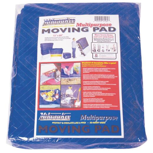 Milwaukee 72 In. W. x 80 In. L. Multipurpose Moving Blanket