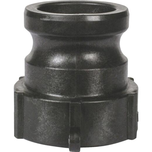 Apache 2 In. Part A Male Cam and Groove Polypropylene Adapter