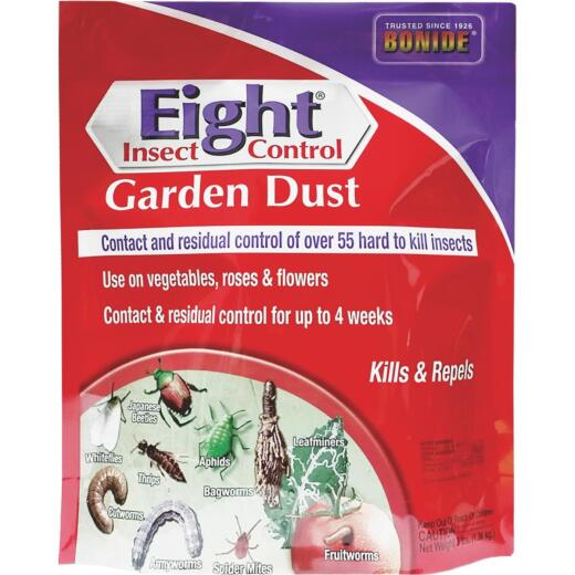 Bonide Eight 3 Lb. Ready To Use Garden Dust Insect Killer