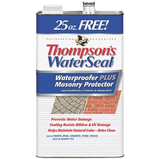 Thompson's WaterSeal Clear Natural Masonry Waterproofer, 1.2 Gal.