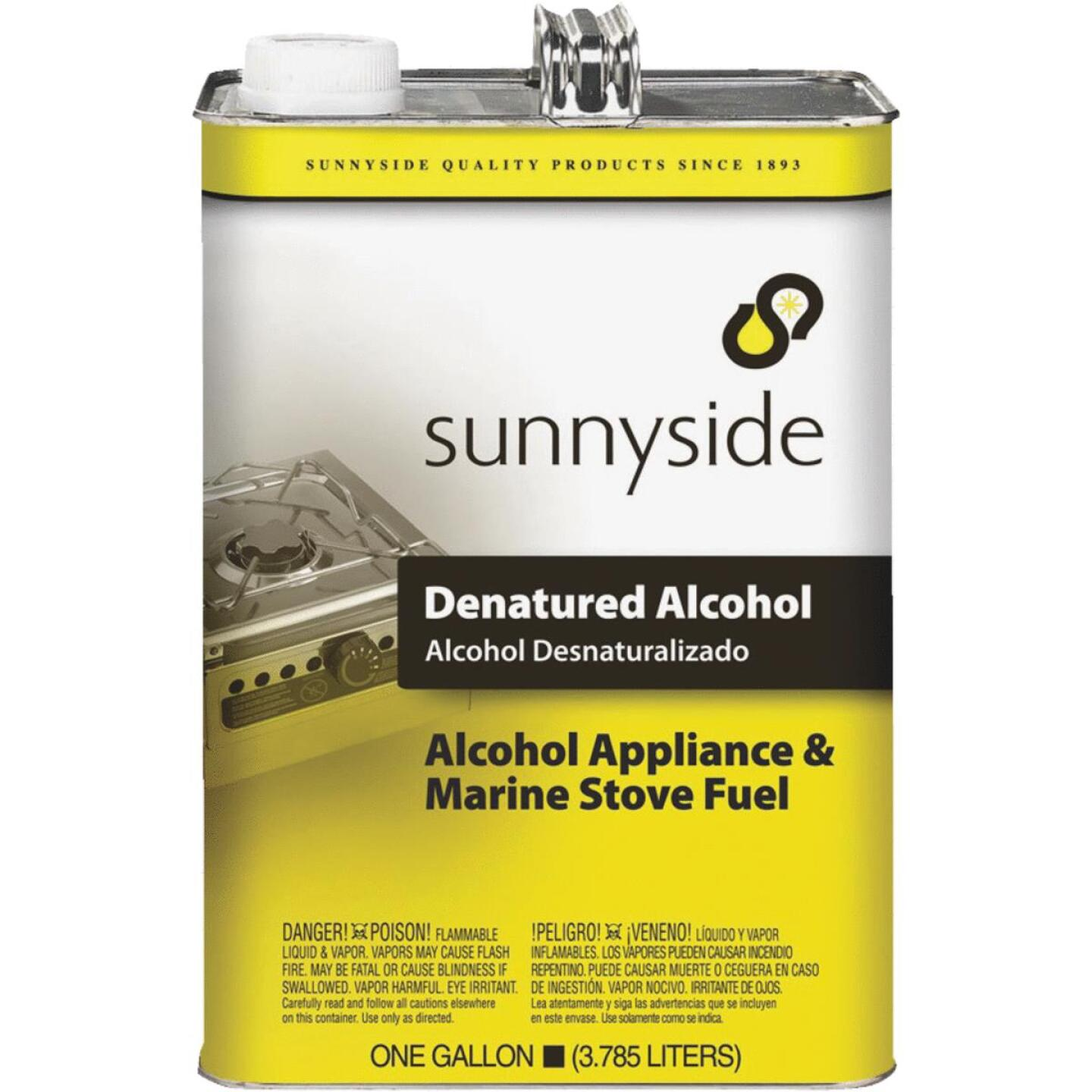Sunnyside Denatured Alcohol Solvent, Gallon Image 1