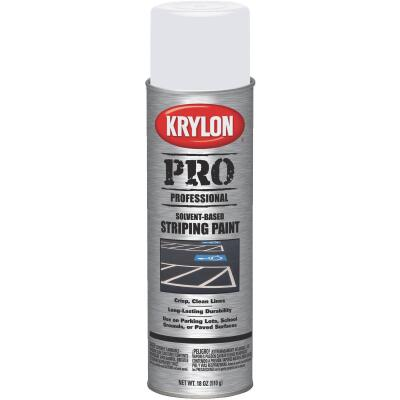 Krylon Highway White 18 Oz. Professional Striping Paint