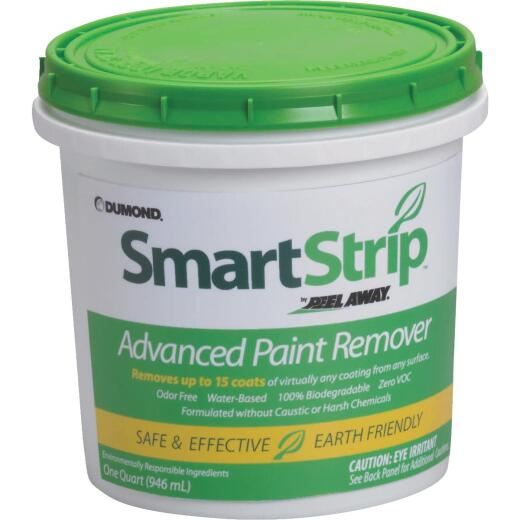 SmartStrip Quart Non-Toxic, Waster-Based Paint & Varnish Stripper