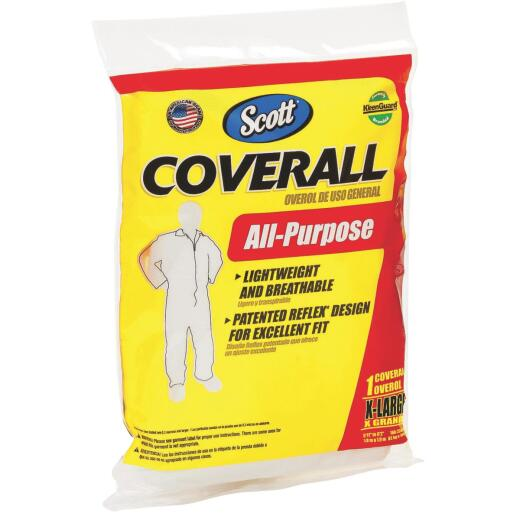 Scott XL Reusable Painter's Coveralls