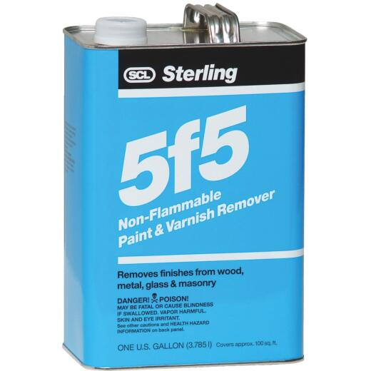 Sterling 5f5 Gallon Non-Flammable Paint & Varnish Remover