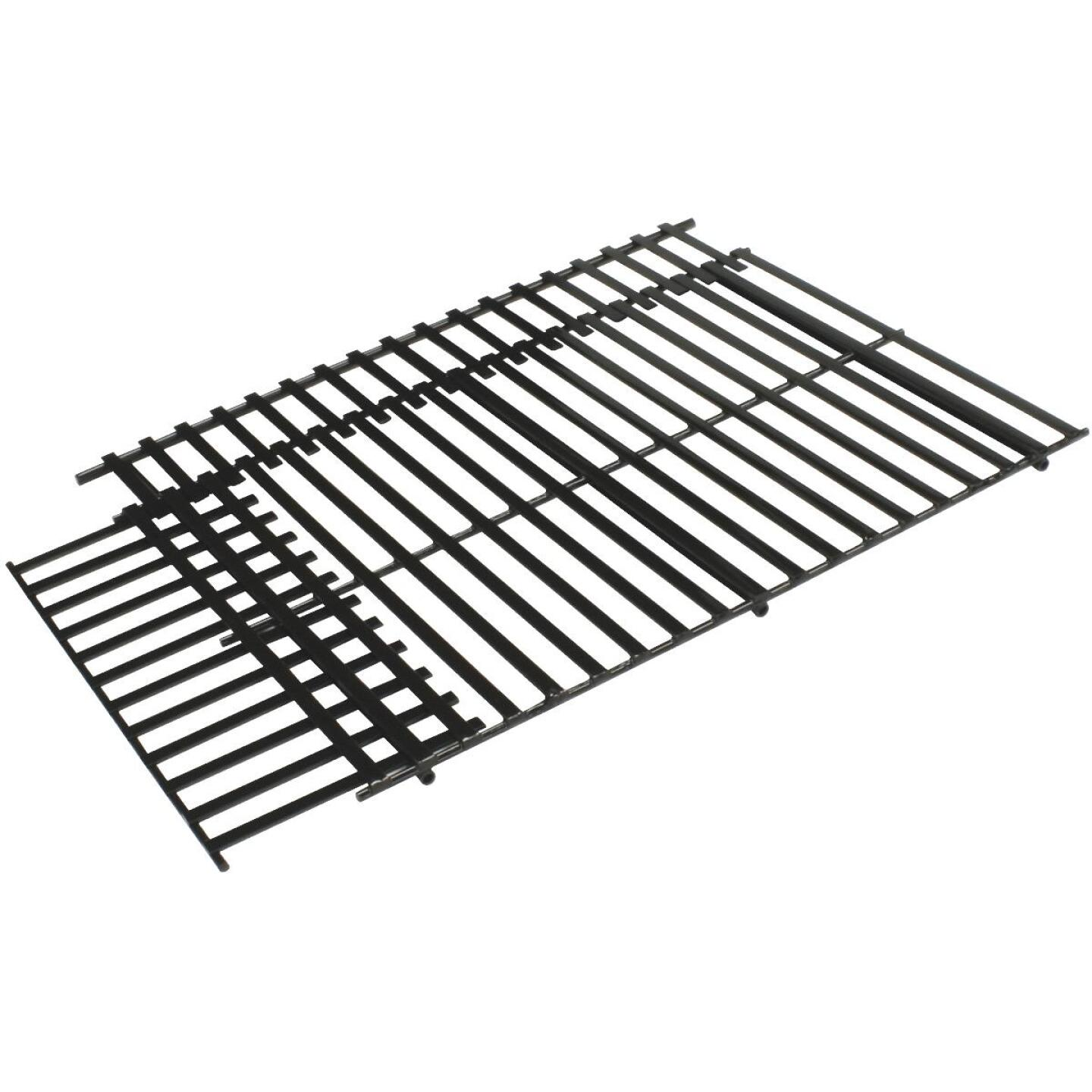 GrillPro 17 In. to 21 In. W. x 11-3/4 In. to 14-1/2 In. D. Steel Universal Adjustable Grill Grate Image 1
