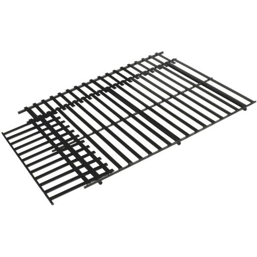 GrillPro 17 In. to 21 In. W. x 11-3/4 In. to 14-1/2 In. D. Steel Universal Adjustable Grill Grate
