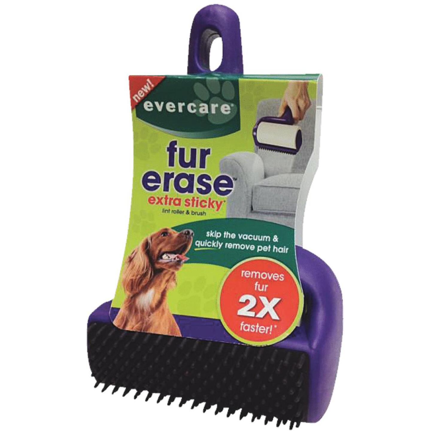 Evercare Fur Erase 4 In. Roller with Brush Pet Hair Remover Image 1