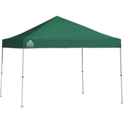 Quick Shade Weekender Elite 10 Ft. x 10 Ft. Green 150D Poly Top Aluminex Canopy