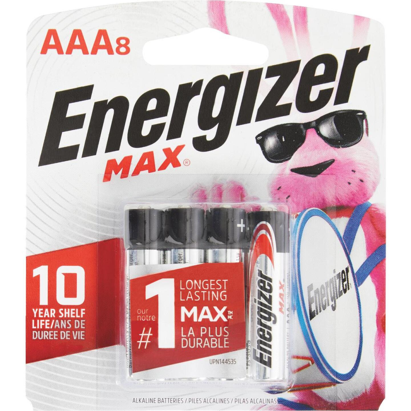Energizer Max AAA Alkaline Battery (8-Pack) Image 1