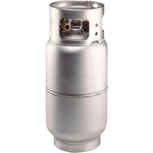 Manchester Tank and Equipment 33.5 Lb. Capacity Aluminum DOT Forklift LP Propane Cylinder