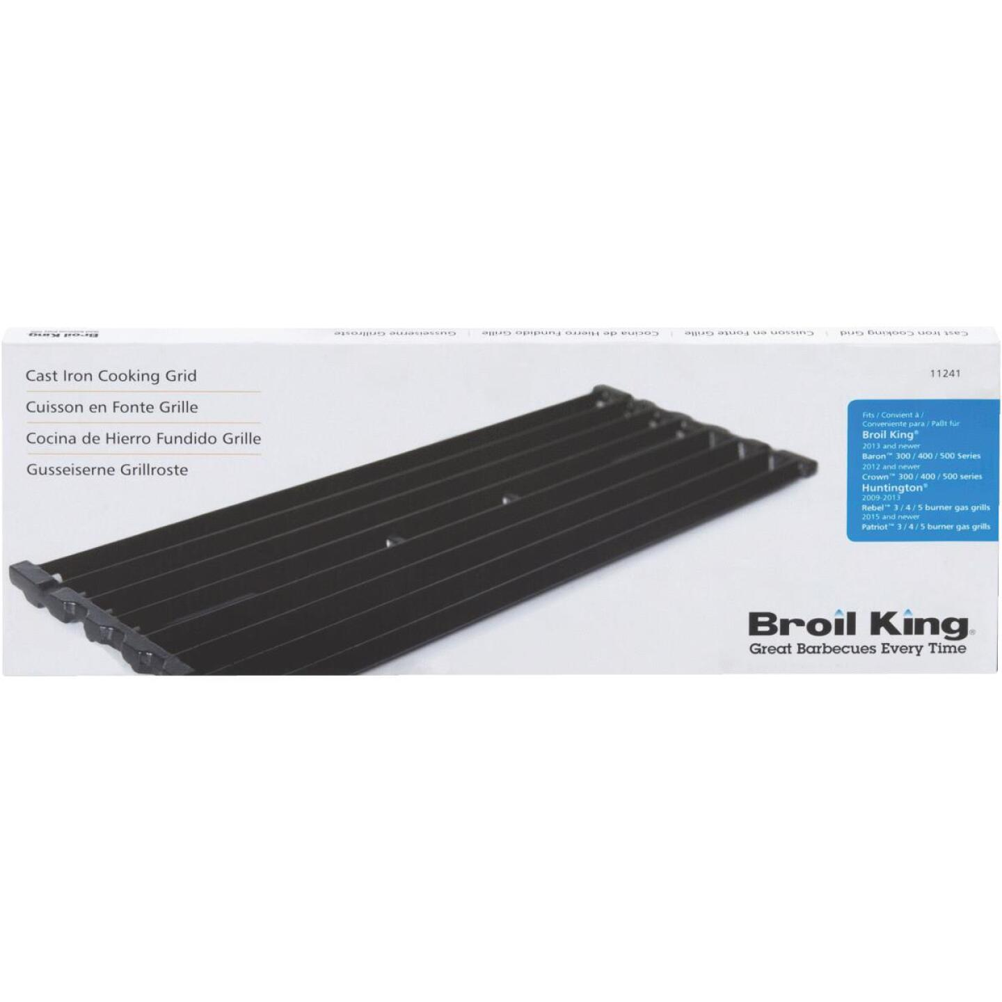 Broil King 6.17 In. x 17.48 In. Cast Iron Cooking Grid Image 2