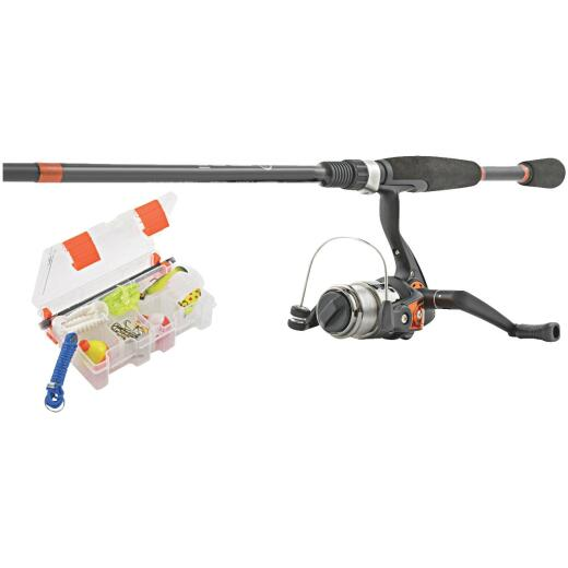 SouthBend Ready 2 Fish All Species 5 Ft. Fiberglass Fishing Rod & Spinning Reel Combo