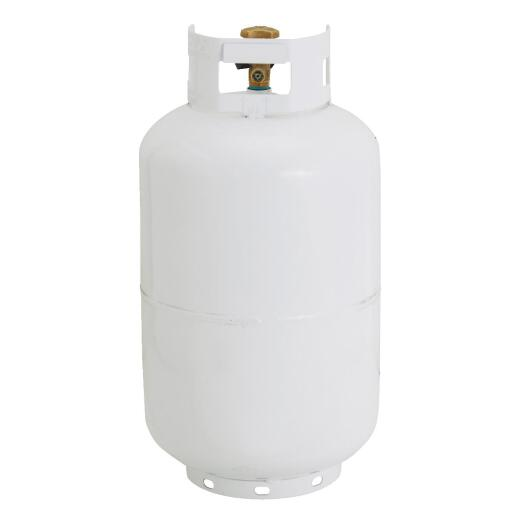 Manchester Tank and Equipment 30 Lb. Capacity Steel TC/DOT Vertical LP Propane Tank
