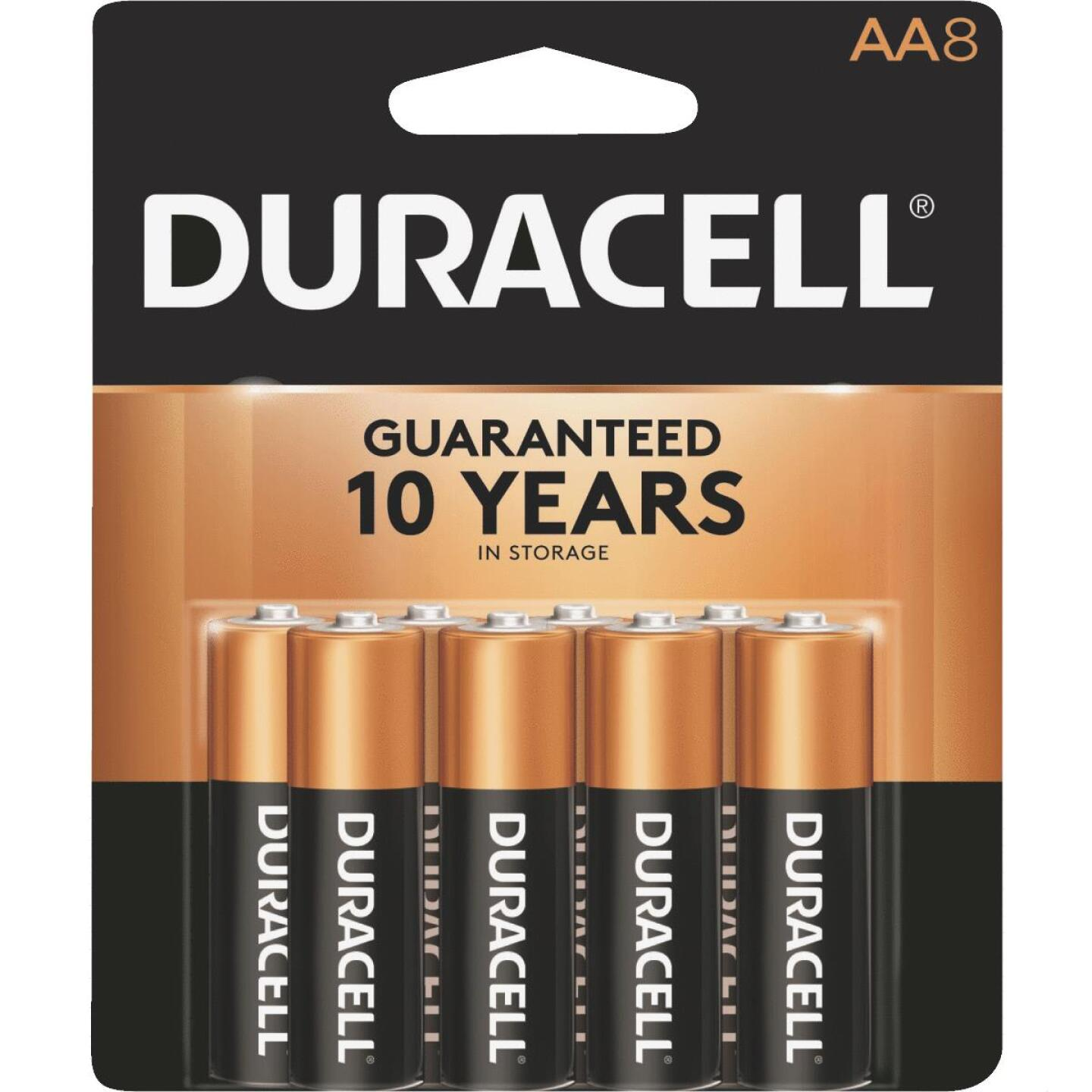 Duracell CopperTop AA Alkaline Battery (8-Pack) Image 1