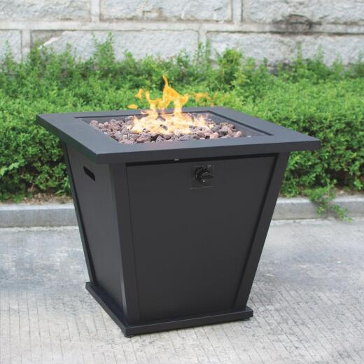 Bond Olivera 28 In. Square Steel Gas Fire Pit