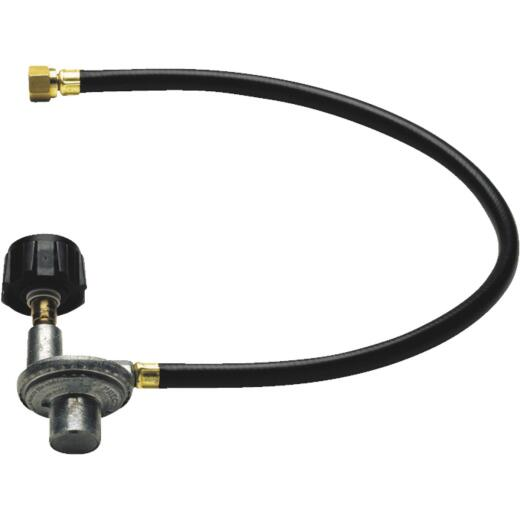 GrillPro 24 In. PVC LP Hose & Regulator